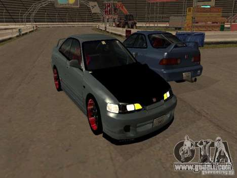 Honda Integra TypeR for GTA San Andreas back left view