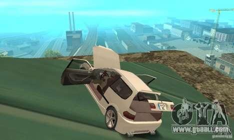 Honda Civic SiR II Tuning for GTA San Andreas inner view