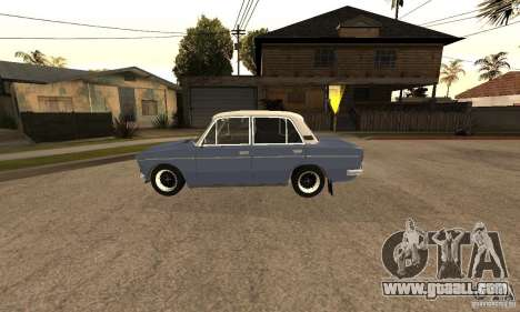 VAZ 2106 Old v2.0 for GTA San Andreas side view