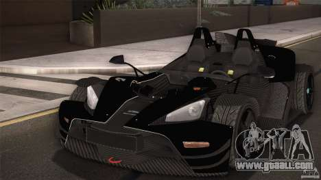 KTM-X-Bow for GTA San Andreas interior