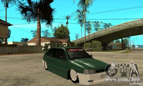Volkswagen Gol v1 for GTA San Andreas back view