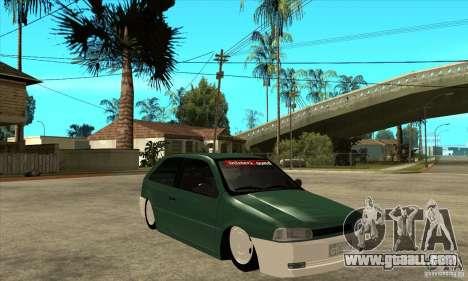 Volkswagen Gol v1 for GTA San Andreas back view