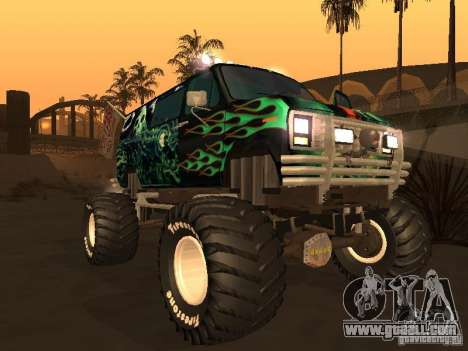 Ford Grave Digger for GTA San Andreas