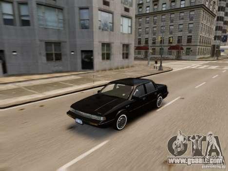 Oldsmobile Cutlass Ciera 1993 for GTA 4 side view