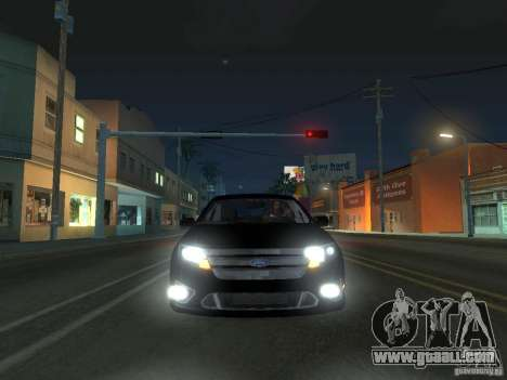 Ford Fusion for GTA San Andreas left view