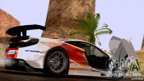 McLaren MP4-12C Speedhunters Edition for GTA San Andreas right view