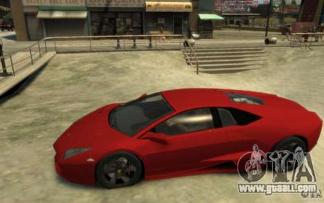 Lamborghini Reventon Coupe for GTA 4 left view