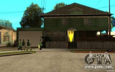 Is Russian Hata CJ for GTA San Andreas fifth screenshot