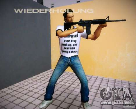 Pak weapons of GTA4 for GTA Vice City second screenshot