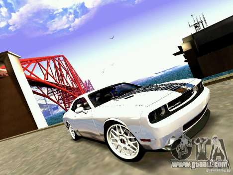 Dodge Challenger SRT8 2009 for GTA San Andreas