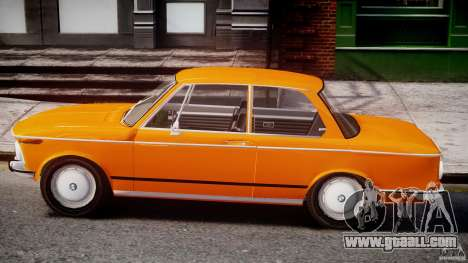 BMW 2002 1972 for GTA 4 back left view