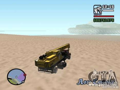 KrAZ-250 MKAT-40 for GTA San Andreas side view