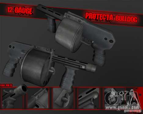 Protecta Bulldog for GTA San Andreas second screenshot