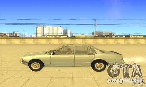 BMW 735i E23 1979 for GTA San Andreas left view