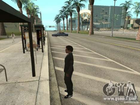 Bus line in Las Venturas for GTA San Andreas third screenshot