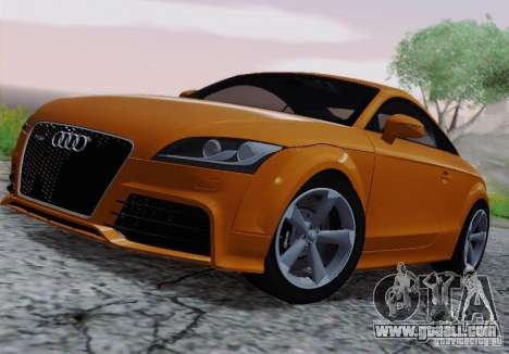 Audi TT-RS Coupe for GTA San Andreas back view