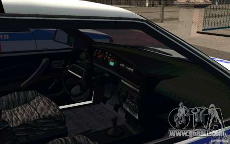 Vaz 2114 PSB Police for GTA San Andreas back view