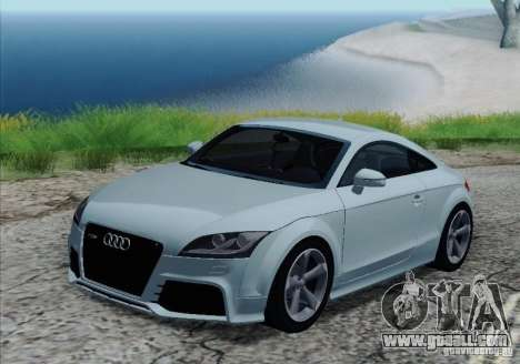Audi TT-RS Coupe for GTA San Andreas wheels