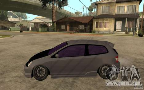 Honda Civic Type-R for GTA San Andreas left view