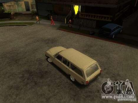 GAZ Volga 310221 Wagon for GTA San Andreas back left view