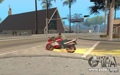 The best effects from GTA IV for GTA San Andreas forth screenshot