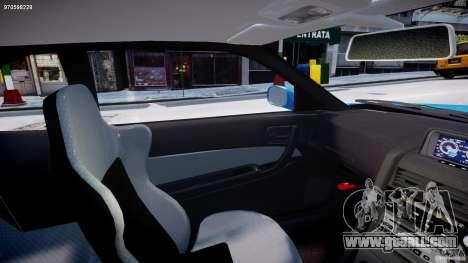 Nissan Skyline R-34 V-spec for GTA 4 inner view