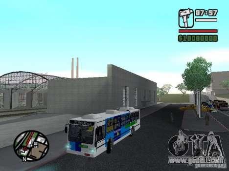 Cobrasma Monobloco Patrol II Trolerbus for GTA San Andreas side view