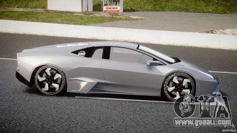 Lamborghini Reventon v2 for GTA 4 left view