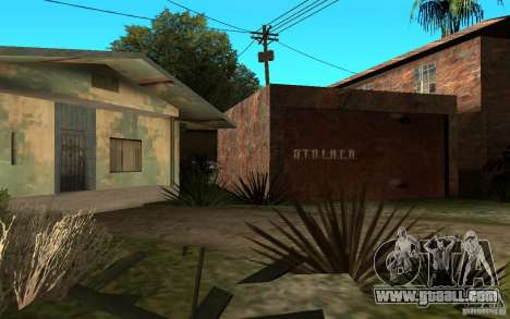 S.T.A.L.K.E.R House for GTA San Andreas second screenshot
