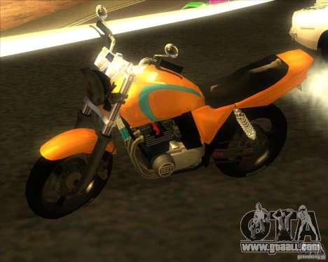 Yamaha XJR400 for GTA San Andreas