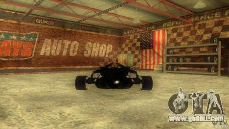 Lamborghini Concept for GTA San Andreas inner view