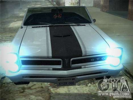 Pontiac GTO 1965 for GTA San Andreas left view