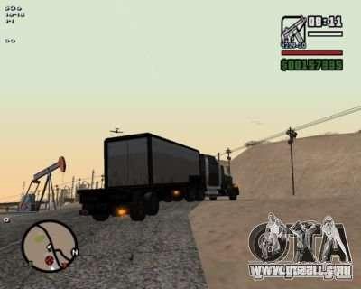 Turn Indicators 2.0 for GTA San Andreas second screenshot