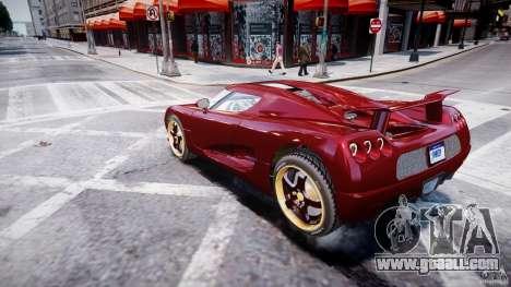 Koenigsegg CCRT for GTA 4 left view