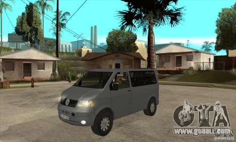 Volkswagen Transporter T5 TDI for GTA San Andreas