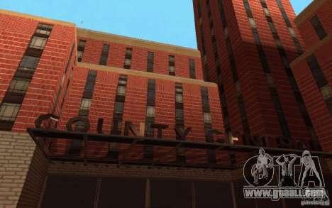 New textures for hospital in Los Santos for GTA San Andreas third screenshot