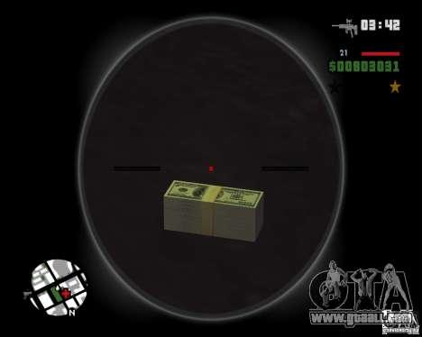 HD money for GTA San Andreas