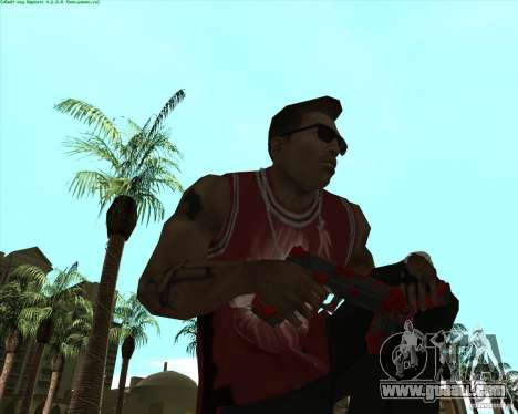 Blood Weapons Pack for GTA San Andreas fifth screenshot