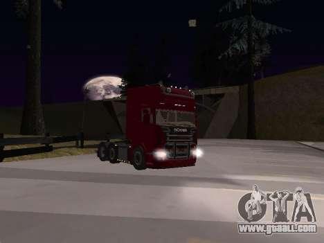 Scania 460 for GTA San Andreas