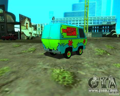 Mystery Machine for GTA San Andreas left view