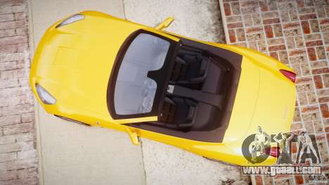 Ferrari California v1.0 for GTA 4 back view