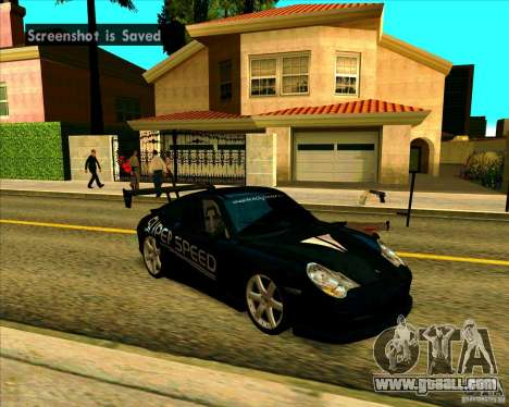 Porsche GT3 SuperSpeed TUNING for GTA San Andreas left view
