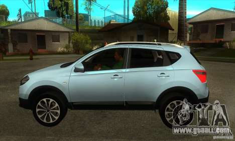 Nissan Qashqai 2011 for GTA San Andreas left view