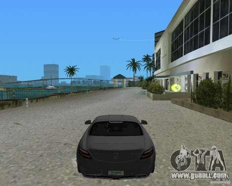Mercedes Benz SLS AMG for GTA Vice City back left view