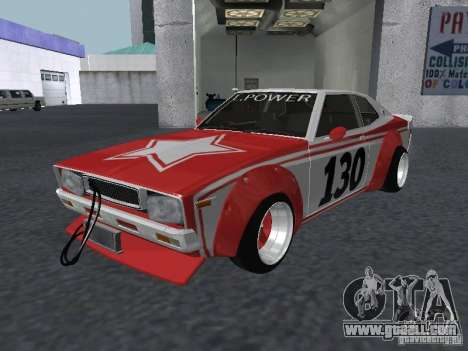 Nissan Laurel C 130 Bosozoku for GTA San Andreas back view