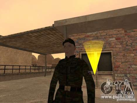 Soldiers of the Russian army for GTA San Andreas
