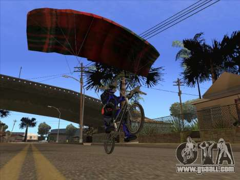 Parachute for bajka for GTA San Andreas third screenshot