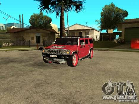 Hummer H2 Diablo for GTA San Andreas