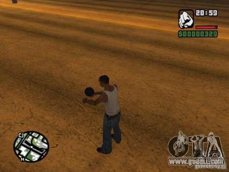 Kyubi-Bomb for GTA San Andreas
