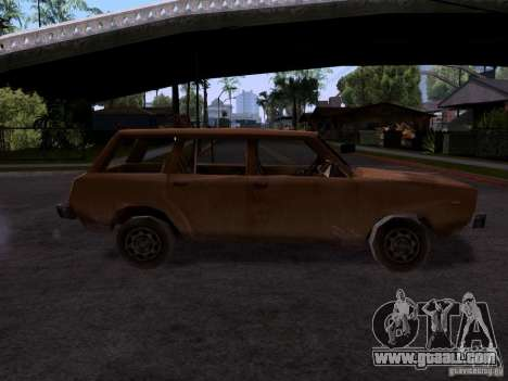 Machine of CoD MW 2 for GTA San Andreas left view